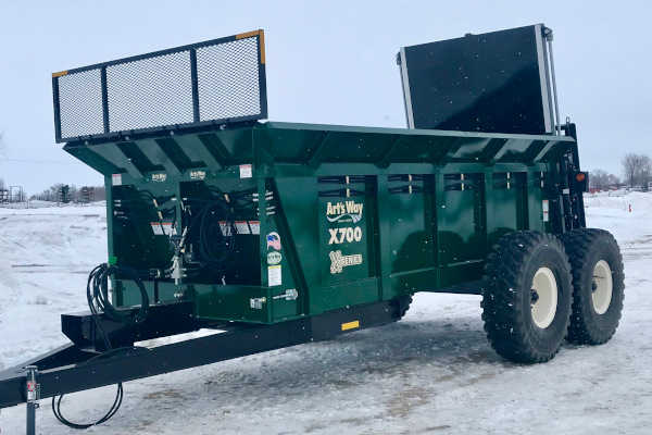 Model X700 Manure Spreader for sale at Rusler Implement, Colorado